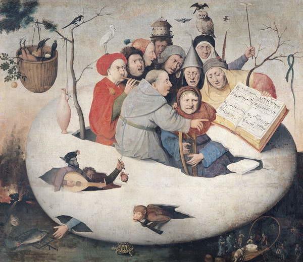 Reproducción de arte The Concert in the Egg