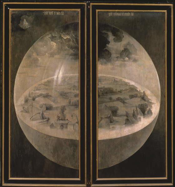 Reproducción de arte  The Creation of the World from 'The Garden of Earthly Delights', 1490-1500