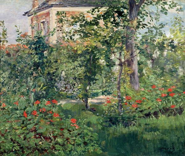 Obrazová reprodukce The Garden at Bellevue, 1880