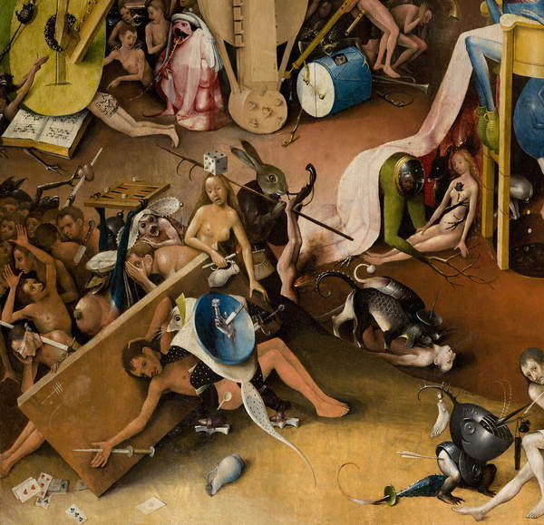 Reproducción de arte The Garden of Earthly Delights, 1490-1500