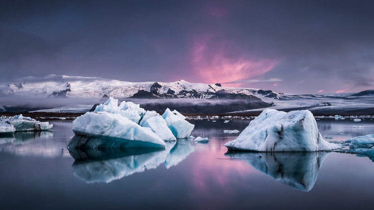 Photographie d'art The Glacier Lagoon