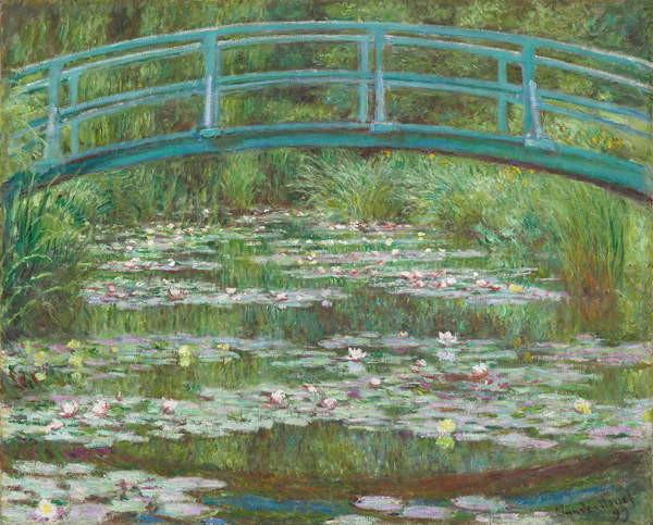 Obrazová reprodukce The Japanese Footbridge, 1899