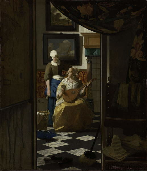 Obrazová reprodukce The Love Letter, c.1669-70