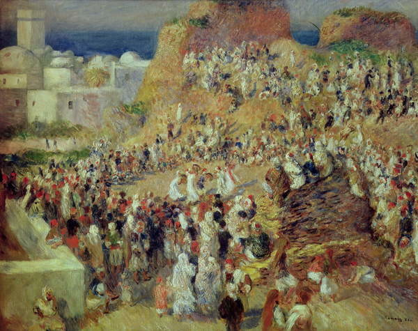Stampa artistica The Mosque, or Arab Festival, 1881