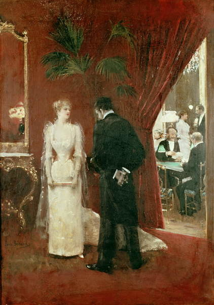 Obraz na plátně The Private Conversation, 1904