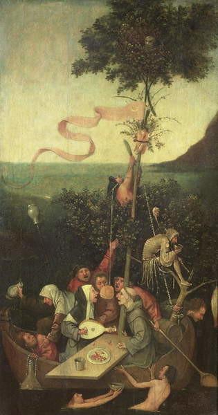 Reproducción de arte  The Ship of Fools, c.1500