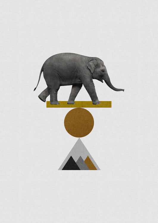 Ilustrace Tribal Elephant