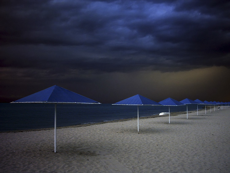 Kunstfotografie Umbrella blues