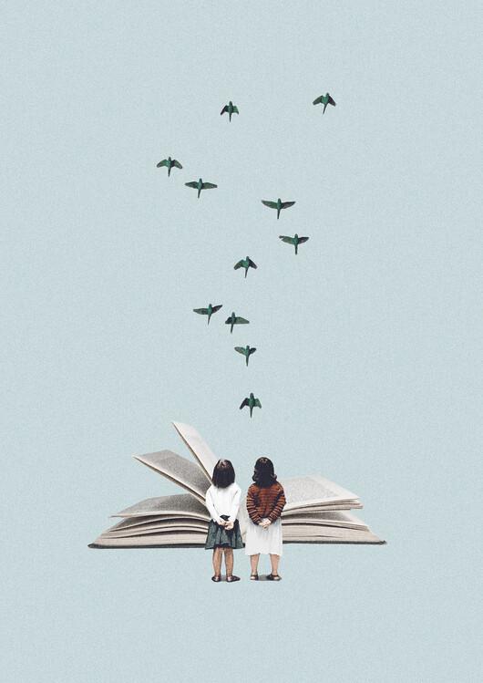 Illustrazione We communicate silently