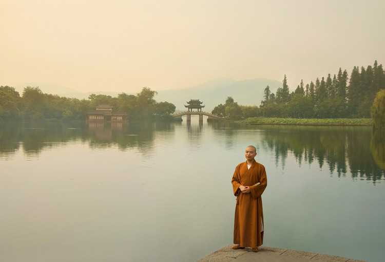 Kunstfotografie West Lake sunrise
