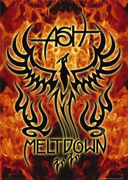 ASH - meltdown - плакат (poster)