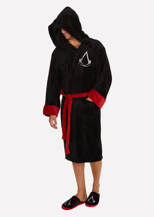 kučni ogrtač Assasins Creed - Black Robe Logo