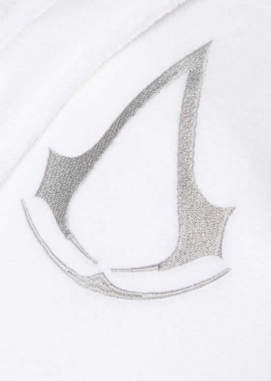 kučni ogrtač Assasins Creed - White Robe Logo