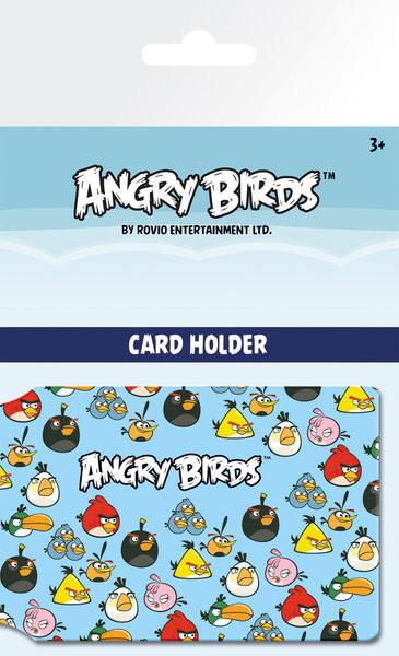 Angry Birds - Pattern Astuccio porta tessere