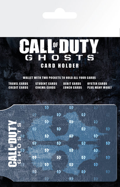 CALL OF DUTY GHOSTS - logo Astuccio porta tessere