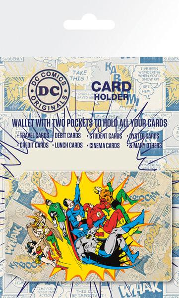 DC Comics - Heroes and Villians Astuccio porta tessere