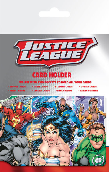 DC Comics - Justice League Group Astuccio porta tessere