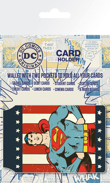 DC Comics - Retro Superman Astuccio porta tessere