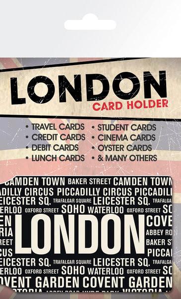 Londra - Areas Astuccio porta tessere