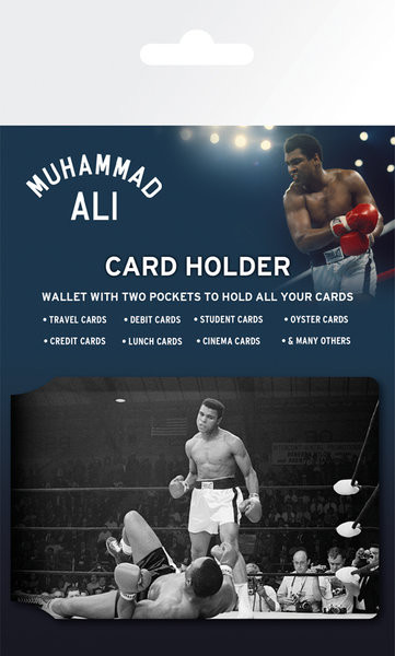 Muhammed Ali - Outwit Astuccio porta tessere
