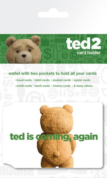 Ted 2 - Logo Astuccio porta tessere