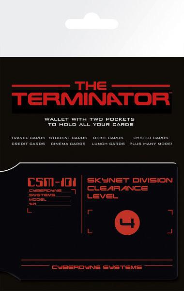 THE TERMINATOR - CSM-101 Astuccio porta tessere