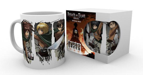 Hrnek Attack On Titan Season 2 - Character Montage
