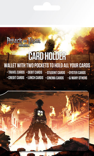 Attack on Titan (Shingeki no kyojin) - Key Art Portcard