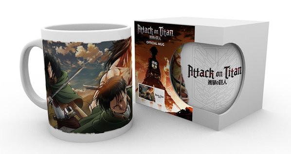 Hrnek Attack on Titan (Shingeki no kyojin) - Scouts