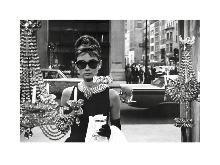 Audrey Hepburn - Window Festmény reprodukció