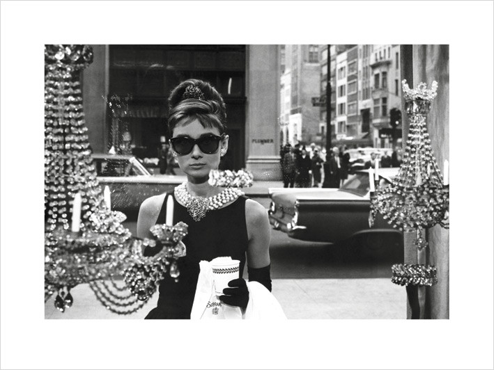 Audrey Hepburn - Window kép reprodukció