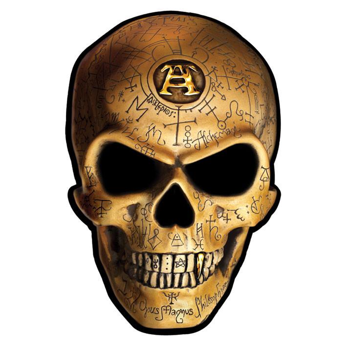 ALCHEMY - omega skull - Aufkleber