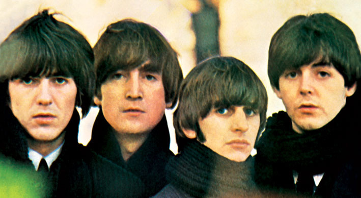 BEATLES - for sale - Aufkleber