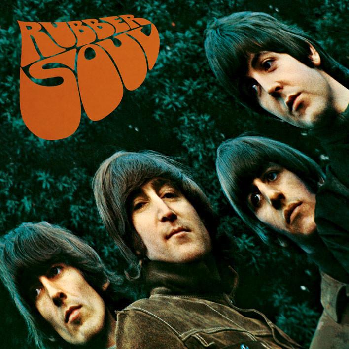 Vinyl-Aufkleber BEATLES - rubber soul bei EuroPosters
