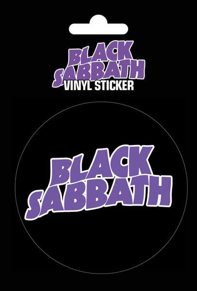 Black Sabbath - Logo - Aufkleber
