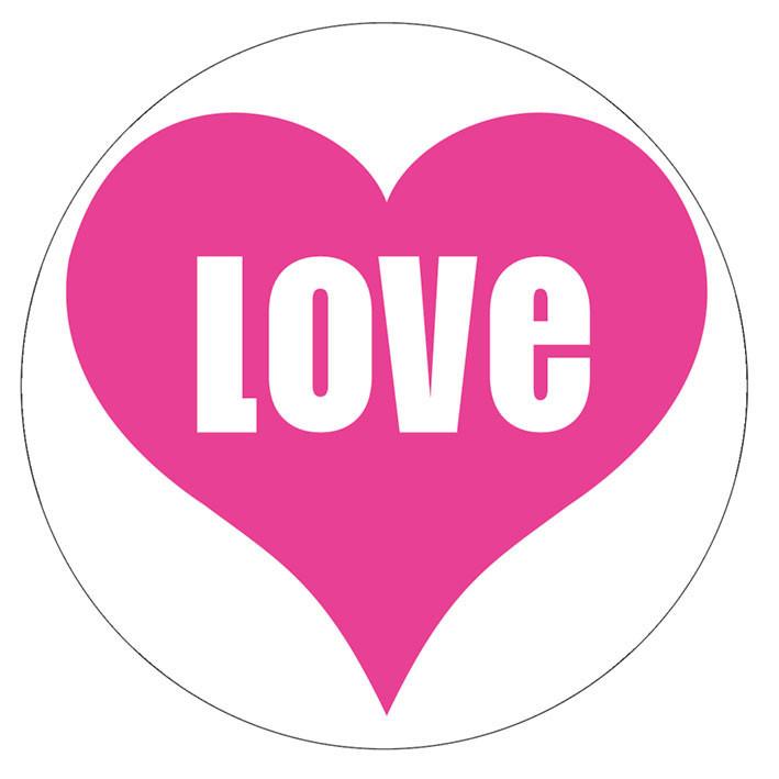 LOVE - Aufkleber