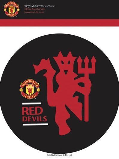 MAN UNITED - red devils - Aufkleber