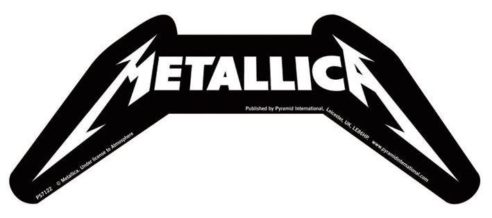 METALLICA – logo  - Aufkleber