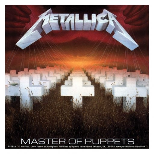 METALLICA – master of puppets - Aufkleber