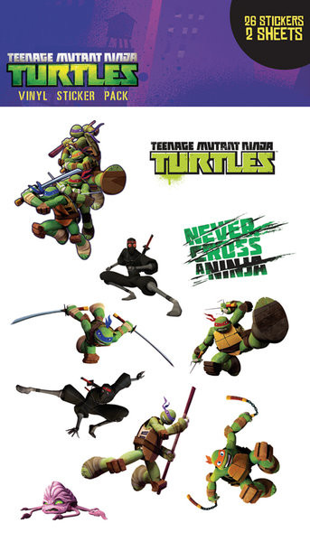 Ninja Turtles - Brothers - Aufkleber