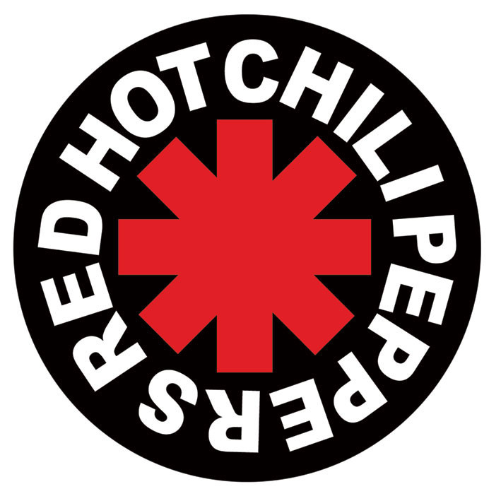 RED HOT CHILI PEPPERS - logo Aufkleber