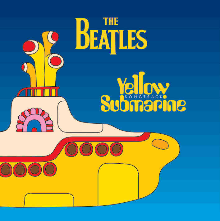 BEATLES - submarine Autocolant
