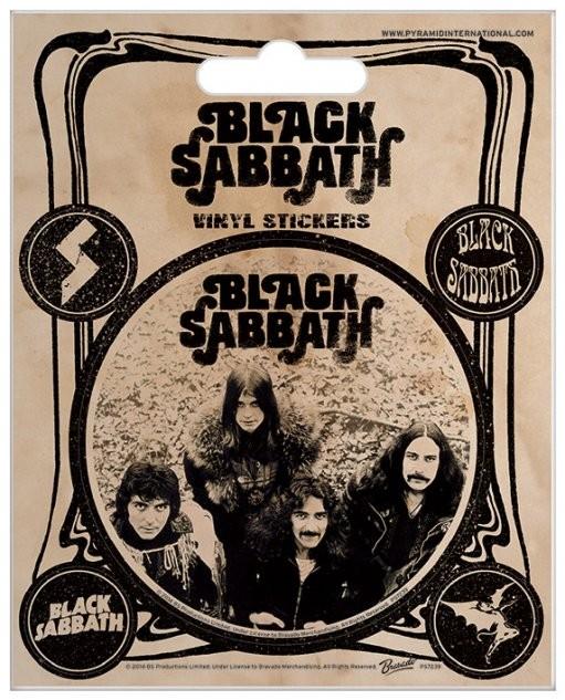 Black Sabbath - Vintage Autocolant