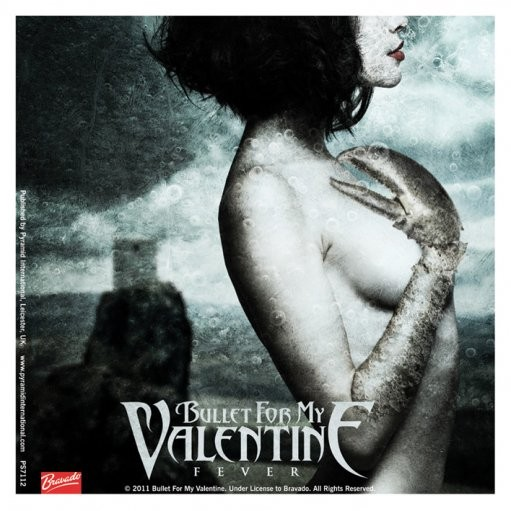 BULLET FOR MY VALENTINE - fever  Autocolant