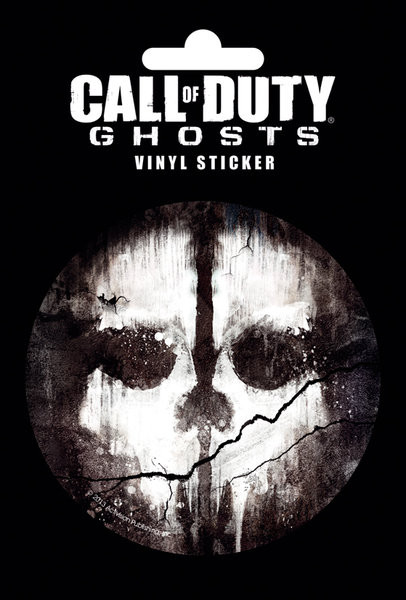 Call Of Duty: Ghosts - Skull Autocolant