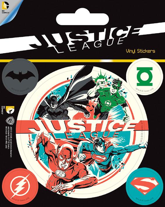 DC Comics - Justice League Autocolant
