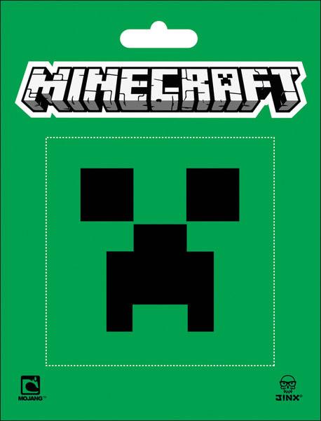 Minecraft - creeper Autocolant