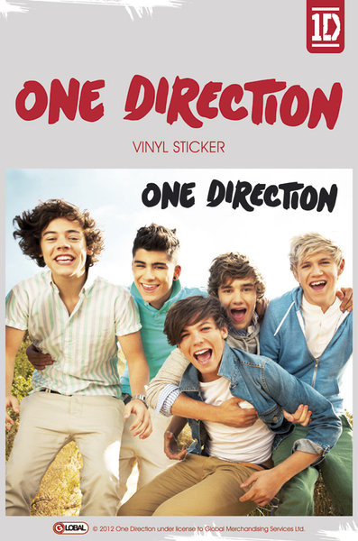 ONE DIRECTION - album Autocolant