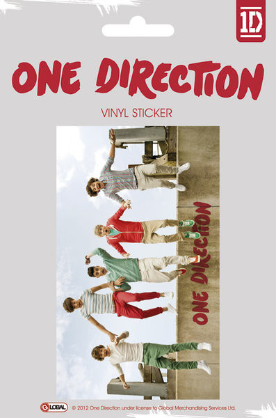 ONE DIRECTION - jumping Autocolant