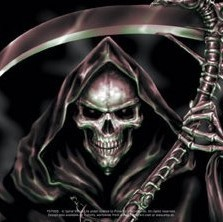 SPIRAL - reapers curse Autocolant